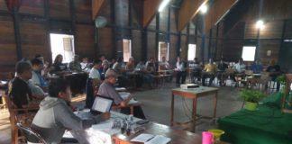 Peserta Temu Pastoral (Pastoralia) Keuskupan Ketapang, 18-20 Juli 2018 bertempat di Kompleks Pastoral Bina Utama Paya Kumang Ketapang